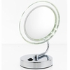 Danielle 10X Magnification Low Profile Folding LED Vanity Mirror D411