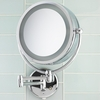Danielle 10X Magnification Revolving Lit Wall Mounted Mirror D123
