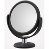 Danielle 12X Magnification Midnight Matte Soft Touch Round Vanity Mirror D168