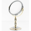 Danielle 2 Tone 7X Magnification Vanity Mirror With Braided Stem D826