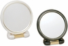 Danielle 6X Magnification Black And Pearl Ultra Vue Folding Mirror D180