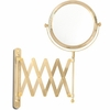 Danielle 6X Magnification Gold Plated Extension Vanity Mirror D3756