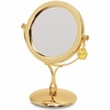 Danielle 7X Magnification Brass Vanity Mirror D258A