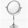 Danielle 7X Magnification Chrome Sculpted Vanity Mirror D810