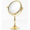Danielle 7X Magnification Gold Plated Sculpted Vanity Mirror D245