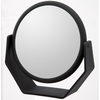 Danielle 7X Magnification Midnight Matte Soft Touch Large Vanity Mirror D164