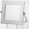 Danielle Square Chrome Vanity Mirror With Easel D362