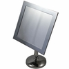 Danielle Square Chrome Vanity Mirror With Stand D361