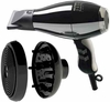 Elchim Hair Dryer 3900  Healthy Ionic Black & Silver 2000 Watts With Diffuser