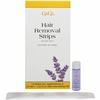 GiGi Lavender / Vanilla Removal Strips for Face 6 Strips 0399