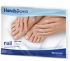 "Graham HandsDown White 12"" x 16"" Flat Nail Care Towels 42910"