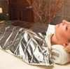 "Graham Spa Essentials Silver 60"" x 200' Mylar Blanket 53838"