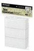 "Graham Spa Essentials White 2.5"" x 15"" Disposable Headbands 53300"