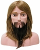 "Hairart 10"" Hair With Beard Competition Mannequin Head OMC-977"