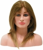 "Hairart 12"" Hair Female Competition Mannequin Head OMC-975"