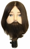 "Hairart 7"" Jacob Elite Male Bearded Mannequin Head 4850"