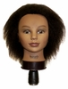"Hairart 8"" Jade Deluxe Mannequin Head With Afro Kinky Hair 4888"