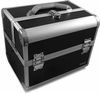 Hairart Black Aluminum Beauty Case With Trays & Strap 79161BK