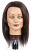 "Hairart Ebony 18"" Hair Value Mannequin Head 91M"
