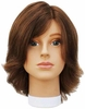 Hairart Elite Mannequins Emily Dark Brown 5822DB