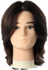 Hairart Elite Mannequins Ricardo Dark Brown 4851DB