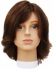 Hairart Emily Dark Brown Mannequin Head 5822DB