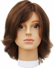 Hairart Emily Medium Brown Mannequin Head 5822MB