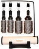 Hairart iTech Magnetic Tourmaline Boar & Nylon Bristle Brush 4 Piece Display 57234