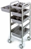 Hairart Trolley With Silver Trays 1201