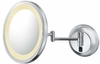 Kimball & Young 5X Chrome Single Sided LED Round Wall Mirror 92445HW