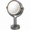 Kimball & Young 5X To 1X Bronze Contemporary Four Post Vanity Mirror 71495
