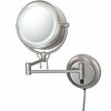 Kimball & Young 5X To 1X Brushed Nickel Contemporary Wall Mirror 91475