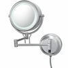 Kimball & Young 5X To 1X Chrome Contemporary Wall Mirror 91445