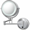 Kimball & Young 5X To 1X Chrome Contemporary Wall Mirror 91445HW