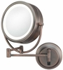 Kimball & Young 5X To 1X Italian Bronze NeoModern LED Lighted Mirror 92515HW