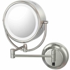 Kimball & Young 5X To 1X Polished Nickel NeoModern LED Lighted Mirror 92585HW