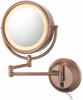 Kimball & Young Diablo Bronze Plug In Double Sided Wall Mirror 95365