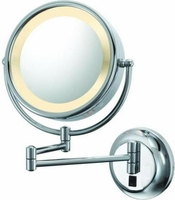 Kimball & Young Double Sided Arm Lighted Wall Mirror