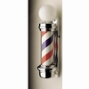 "Marvy Barber Pole 6"" Two Light Model 55 BP055TLR"