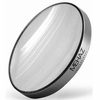 "Mehaz 3 5/8"" Brushed Silver Rim 12X Magnification Mirror MC0212"