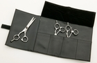 "Mehaz 6 1/2"" Onyx Offset Hair Scissor MC465"