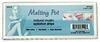 "Melting Pot 4.5"" x 1.75"" Natural Muslin Epilation 100 Strips FS4100"