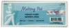 "Melting Pot 6.5"" X 2.5"" Natural Muslin Epilation 100 Strips FS6100"