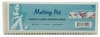 "Melting Pot 9"" x 3"" Natural Muslin Epilation 100 Strips FS4000"