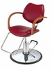 Pibbs Diva Series Hydraulic Styling Chair with Star Base 6606