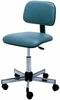 Pibbs Ergonomic Stool With Backrest 646