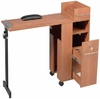 Pibbs Folding Manicure Station Table Wood 2009WD