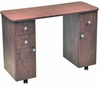 Pibbs Laminated Double Storage Nail table PN1022
