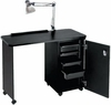 "Pibbs Nail Center With Locking Cabinet 18"" X 38"" Deluxe NC1006N"
