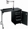 "Pibbs Nail Center With Locking Cabinet 18"" X 38"" NC1005N"